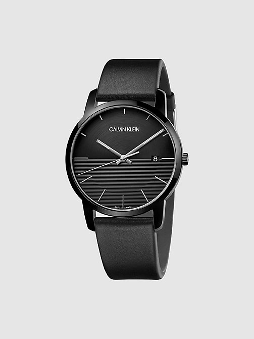 CALVIN KLEIN Watch - Calvin Klein City - BLACK - CALVIN KLEIN WATCHES - main image