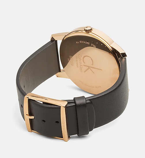 CALVINKLEIN Watch - Calvin Klein City - PINK GOLD  /  BLACK - CALVIN KLEIN WATCHES & JEWELLERY - detail image 1