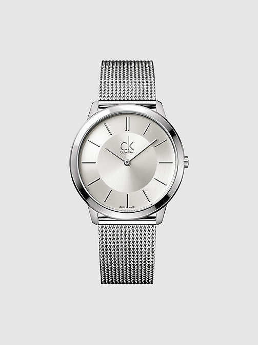 CALVINKLEIN Watch - Calvin Klein Minimal - BLACK - CALVIN KLEIN WATCHES & JEWELLERY - main image