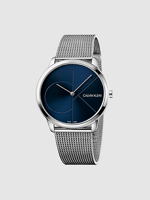 CALVIN KLEIN Watch - Calvin Klein Minimal - SST / BLUE - CALVIN KLEIN WATCHES - main image
