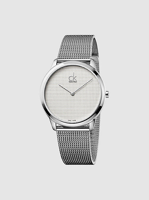 CALVINKLEIN Watch - Calvin Klein Minimal - SILVER/STAINLESS - CALVIN KLEIN WATCHES & JEWELLERY - main image