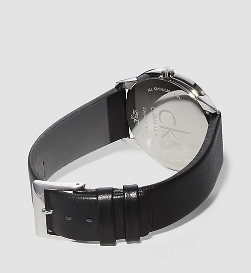 CALVINKLEIN Watch - Calvin Klein Minimal - BLACK - CALVIN KLEIN WATCHES & JEWELLERY - detail image 1