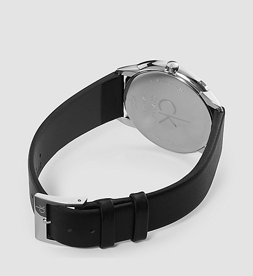 CALVINKLEIN Watch - Calvin Klein Minimal - SST/BLACK/SILVER - CALVIN KLEIN WATCHES & JEWELLERY - detail image 1