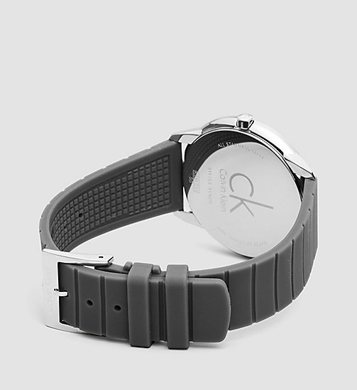 CALVINKLEIN Watch - Calvin Klein Minimal - SST / COOL GREY/ RED - CALVIN KLEIN WATCHES & JEWELLERY - detail image 1