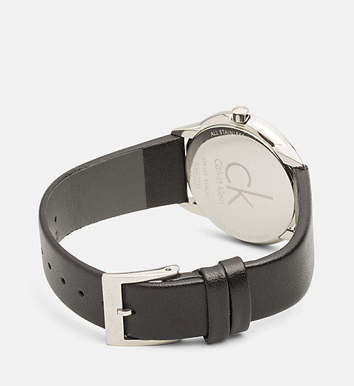 CALVINKLEIN Watch - Calvin Klein Minimal - SST/COOLGREY/BLACK - CALVIN KLEIN WATCHES & JEWELLERY - detail image 1