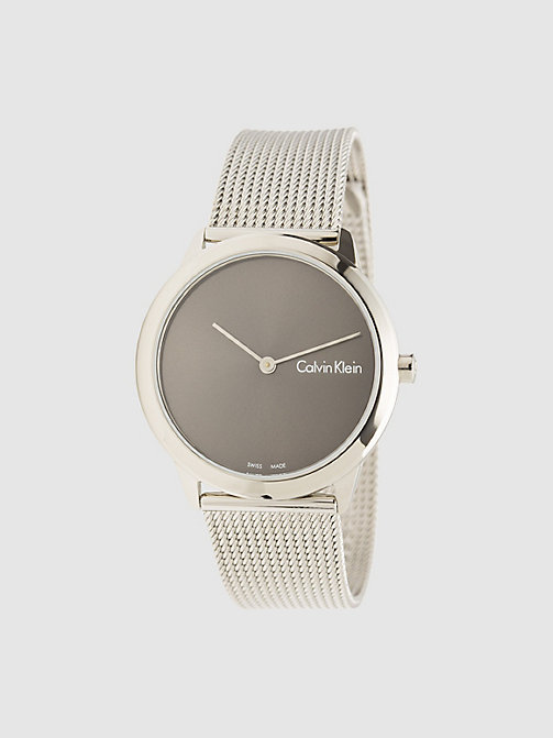CALVINKLEIN Watch - Calvin Klein Minimal - SST  /   COOL GREY - CALVIN KLEIN WATCHES & JEWELLERY - main image