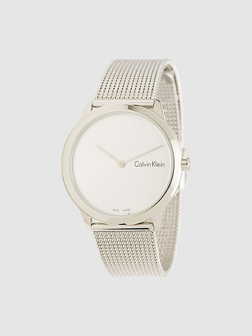 CALVINKLEIN Watch - Calvin Klein Minimal - SST /  SILVER -  WATCHES & JEWELLERY - main image