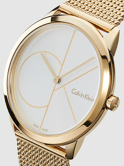 CALVIN KLEIN Watch - Calvin Klein Minimal - YELLOW GOLD  /  SILVER - CALVIN KLEIN WATCHES - detail image 1