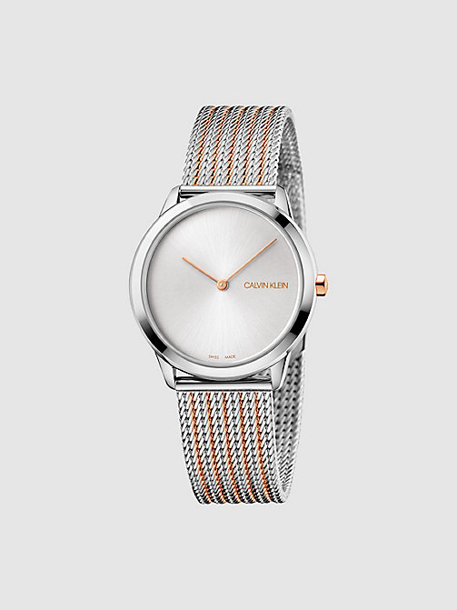 CALVINKLEIN Watch - Calvin Klein Minimal - SILVER PINK -  WATCHES - main image