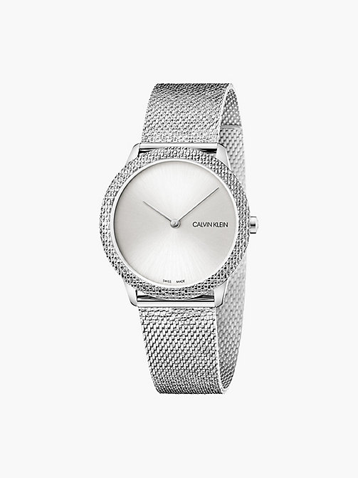 CALVINKLEIN Watch - Calvin Klein Minimal - SILVER -  WATCHES - main image