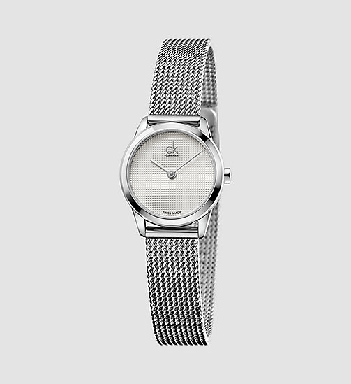 CALVINKLEIN Watch - Calvin Klein Minimal - SILVER / STAINLESS - CALVIN KLEIN WATCHES & JEWELLERY - main image