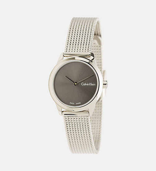 CALVINKLEIN Watch - Calvin Klein Minimal - SST/COOLGREY - CALVIN KLEIN WATCHES & JEWELLERY - main image