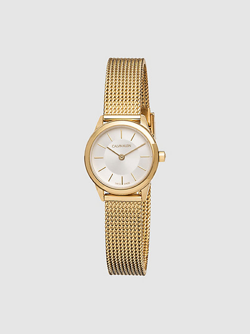 CALVINKLEIN Watch - Calvin Klein Minimal - GOLD -  WATCHES - main image
