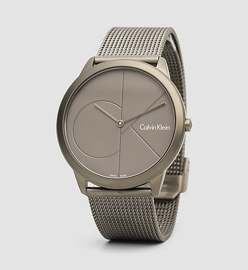 CALVINKLEIN Watch - Calvin Klein Minimal - GREY - CALVIN KLEIN WATCHES & JEWELLERY - main image