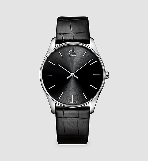 CALVINKLEIN Watch - Calvin Klein Classic - BLACK - CALVIN KLEIN WATCHES & JEWELLERY - main image