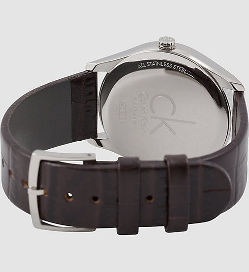 CALVINKLEIN Watch - Calvin Klein Classic - BROWN - CALVIN KLEIN WATCHES & JEWELLERY - detail image 1
