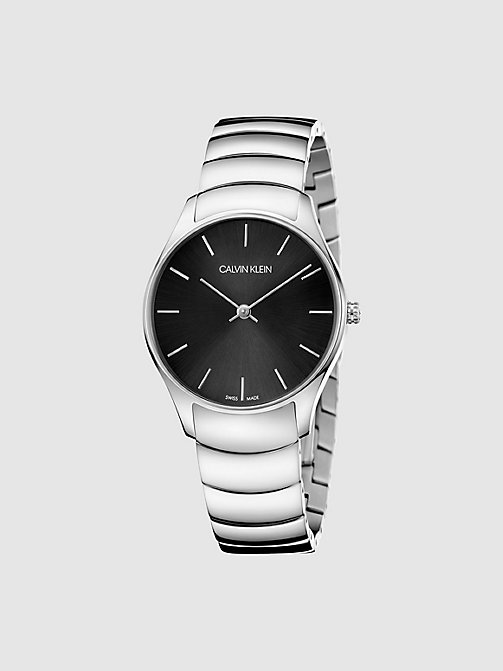 CALVINKLEIN Watch - Calvin Klein Classic Too - SILVER/BLACK - CALVIN KLEIN MEN - main image