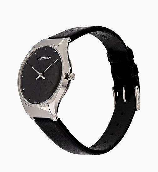 CALVINKLEIN Watch - Calvin Klein Classic Too - BLACK -  WATCHES - detail image 1