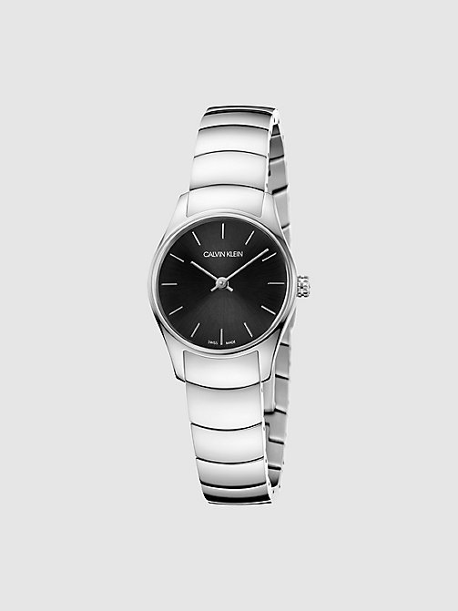 CALVINKLEIN Watch - Calvin Klein Classic Too - SILVER/BLACK - CALVIN KLEIN WATCHES - main image