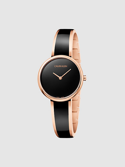 CALVINKLEIN Watch - Calvin Klein Seduce - BLACK / PINK - CALVIN KLEIN WATCHES - main image