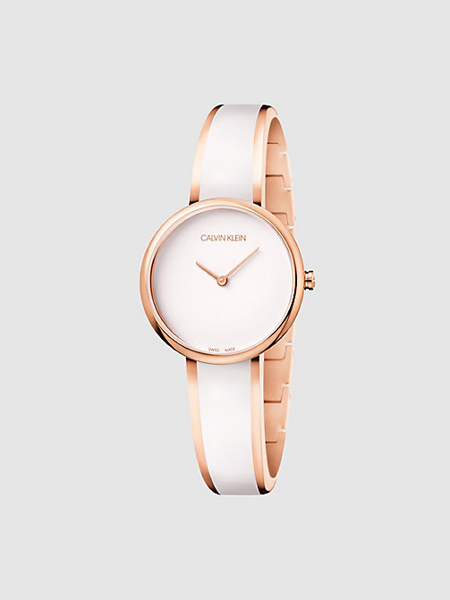 CALVINKLEIN Watch - Calvin Klein Seduce - WHITE & PINK -  WATCHES - main image