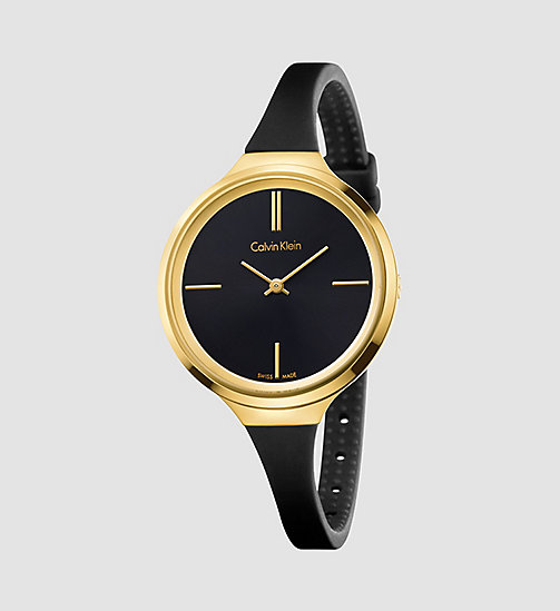 CALVINKLEIN Watch - Calvin Klein Lively - BLACK / YELLOW - CALVIN KLEIN WATCHES & JEWELLERY - main image