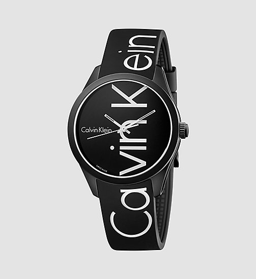 CALVINKLEIN Watch - Calvin Klein Color - BLACK/WHITE - CALVIN KLEIN WATCHES & JEWELLERY - main image