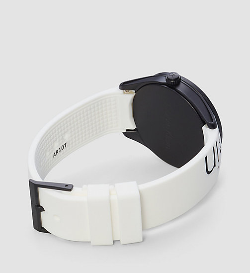 CALVINKLEIN Watch - Calvin Klein Color - WHITE/BLACK -  WATCHES & JEWELLERY - detail image 1