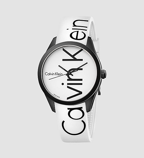 CALVINKLEIN Watch - Calvin Klein Color - WHITE/BLACK - CALVIN KLEIN WATCHES & JEWELLERY - main image