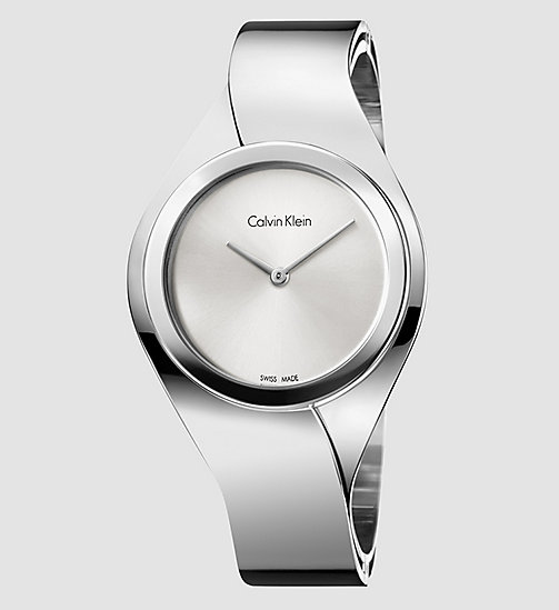 CALVINKLEIN Watch - Calvin Klein Senses - SILVER - CALVIN KLEIN WATCHES - main image