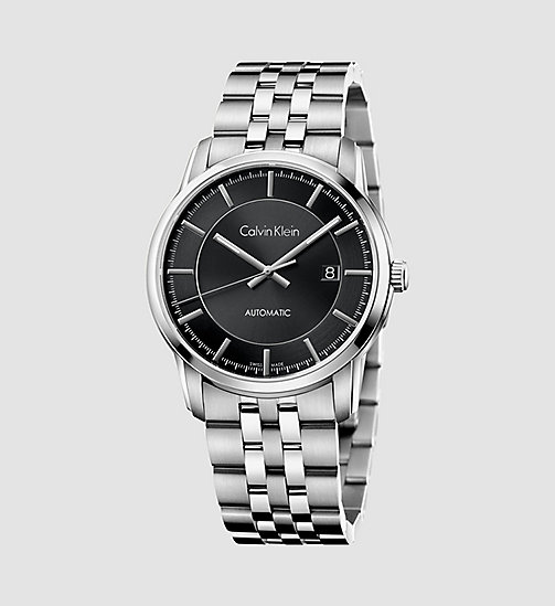 CALVINKLEIN Watch - Calvin Klein Infinite - BLACK / STAINLESS - CALVIN KLEIN WATCHES & JEWELLERY - main image