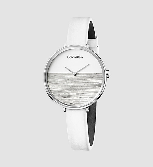 CALVINKLEIN Watch - Calvin Klein Rise - SILVER - CALVIN KLEIN WATCHES & JEWELLERY - main image
