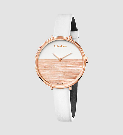 CALVINKLEIN Watch - Calvin Klein Rise - PINK / WHITE - CALVIN KLEIN WATCHES & JEWELLERY - main image