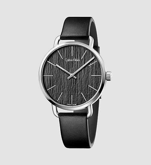 CALVINKLEIN Watch - Calvin Klein Even - BLACK - CALVIN KLEIN WATCHES & JEWELLERY - main image