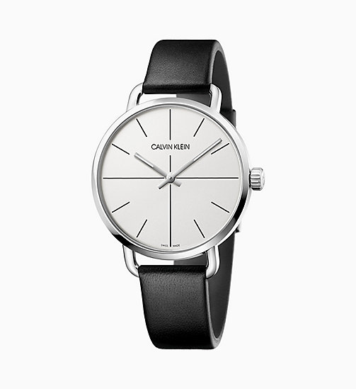 CALVIN KLEIN Watch - Calvin Klein Even - SILVER / BLACK - CALVIN KLEIN GIFTS - main image