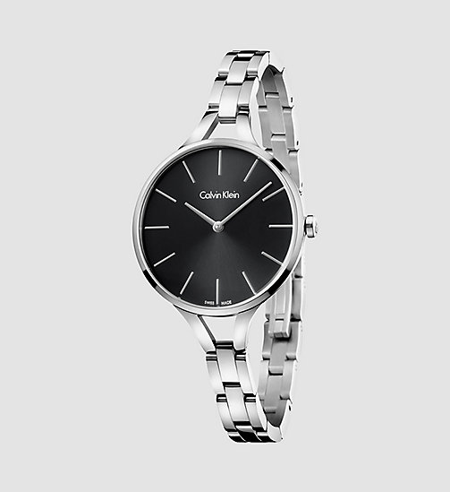 CALVINKLEIN Watch - Calvin Klein Graphic - BLACK / STAINLESS STEEL - CALVIN KLEIN WATCHES & JEWELLERY - main image