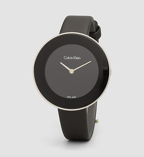 CALVIN KLEIN Watch - Calvin Klein Chic - SST/BLACK - CALVIN KLEIN WATCHES & JEWELLERY - main image