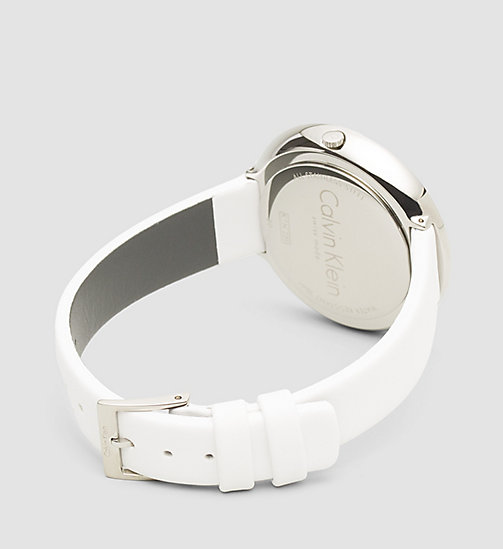 CALVINKLEIN Watch - Calvin Klein Chic - SST / WHITE - CALVIN KLEIN WATCHES & JEWELLERY - detail image 1