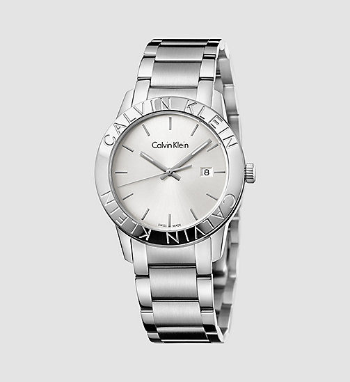 CALVINKLEIN Watch - Calvin Klein Steady - SST /  SILVER - CALVIN KLEIN WATCHES & JEWELLERY - main image