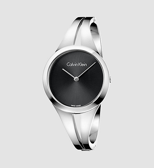 CALVINKLEIN Watch - Calvin Klein Addict - SST / BLACK - CALVIN KLEIN WATCHES & JEWELLERY - main image