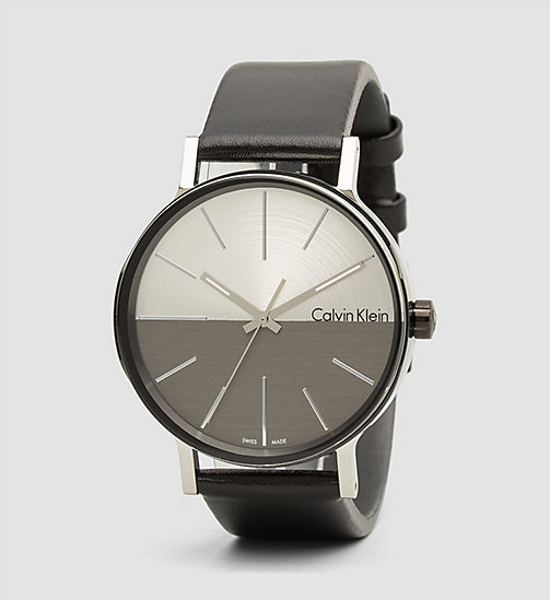 CALVINKLEIN Watch - Calvin Klein Boost - BLACK/SILVER/ COOL GREY - CALVIN KLEIN JEWELLERY - main image