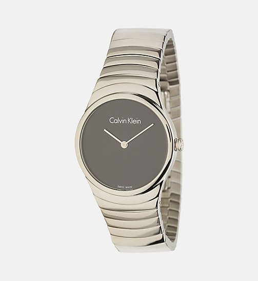 CALVINKLEIN Watch - Calvin Klein Whirl - SST / BLACK - CALVIN KLEIN WATCHES & JEWELLERY - main image