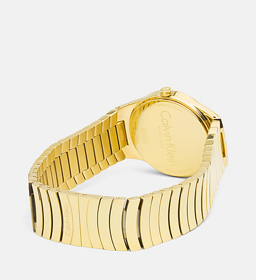 CALVINKLEIN Watch - Calvin Klein Whirl - YELLOWGOLD/BLACK -  SHOES & ACCESORIES - detail image 1