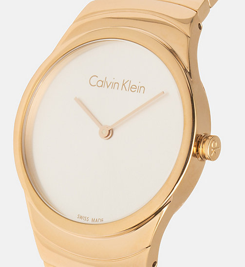 CALVINKLEIN Watch - Calvin Klein Whirl - YELLOW GOLD  /  SILVER - CALVIN KLEIN WATCHES - detail image 1