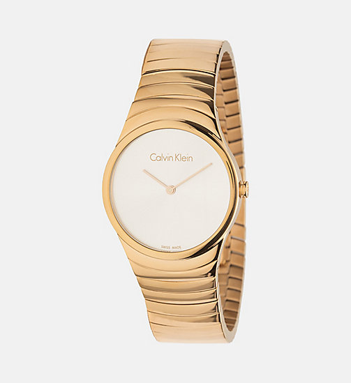 CALVINKLEIN Watch - Calvin Klein Whirl - YELLOW GOLD  /  SILVER - CALVIN KLEIN WATCHES - main image