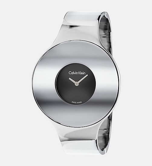 CALVINKLEIN Watch - Calvin Klein Seamless - SST / BLACK - CALVIN KLEIN WATCHES & JEWELLERY - main image
