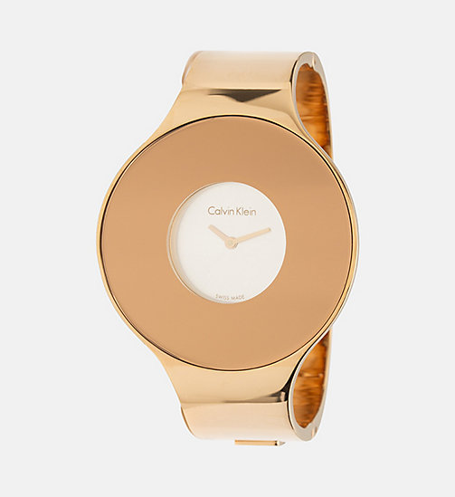 CALVINKLEIN Watch - Calvin Klein Seamless - PINKGOLD/SILVER - CALVIN KLEIN WATCHES & JEWELLERY - main image