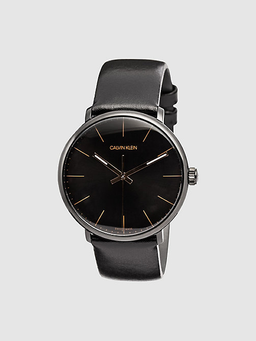 CALVINKLEIN Watch - Calvin Klein High Noon - BLACK - CALVIN KLEIN JEWELLERY - main image