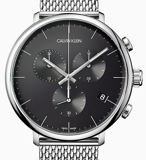 CALVIN KLEIN Watch - Calvin Klein High Noon - BLACK/ SILVER - CALVIN KLEIN GIFTS - detail image 1