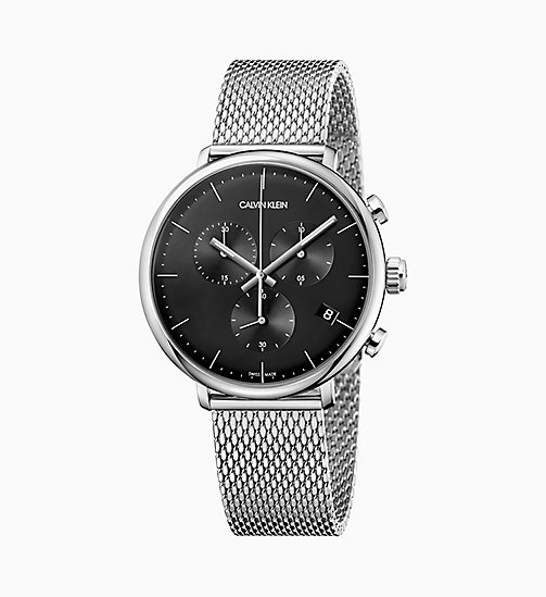CALVIN KLEIN Watch - Calvin Klein High Noon - BLACK/ SILVER - CALVIN KLEIN GIFTS - main image